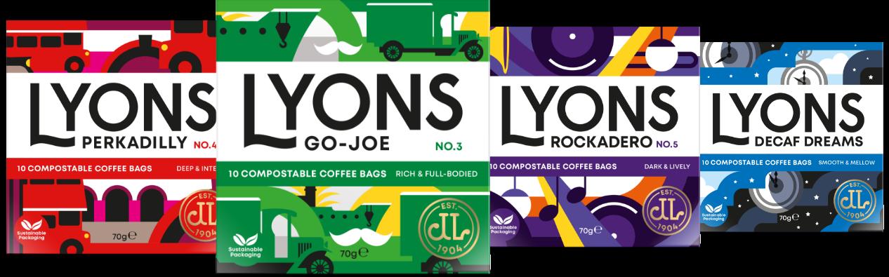 The Lyons Coffee Range